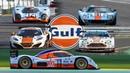 GULF racecars roadcars | 917, DBR1-2, MP4-12c, Vantage, GT40, Lupo, 911, F1 GTR,