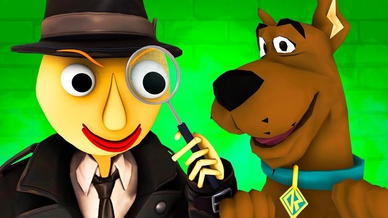 Балди и Скуби Ду vs Мисс Т Страшная Учительница Scary Teacher Baldi Детектив Хоррор 3D Анимация