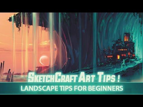 Art Tips Landscape Painting Tips for Beginners