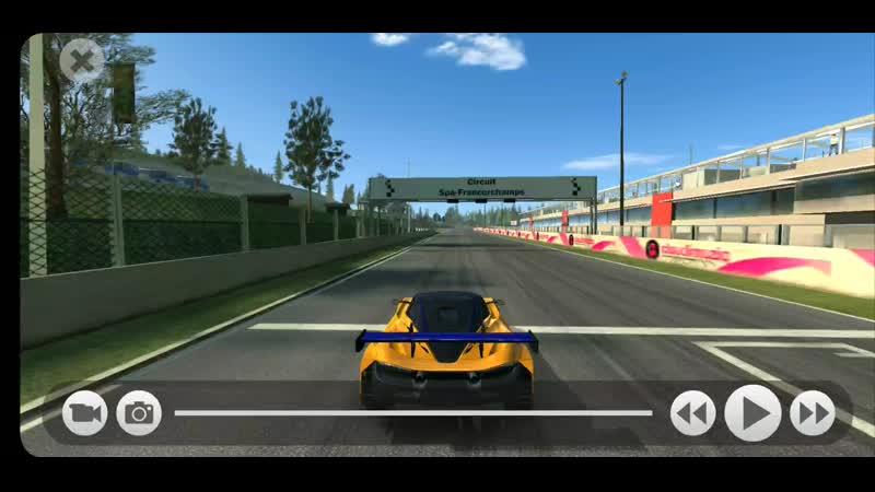 RR3 Spa on McLaren 720S