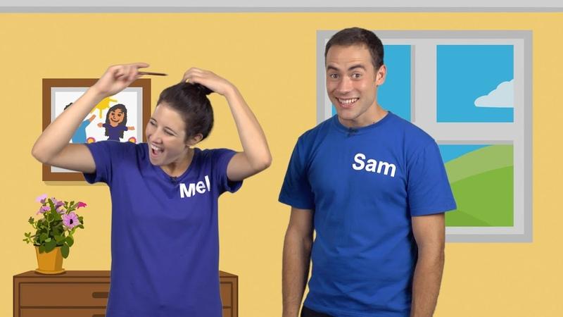 Lecon 2 Sam and Mel Anglais pour les Enfants