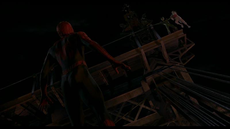 7 Человек Паук против Зеленого Гоблина Битва на мосту Человек Паук 2002