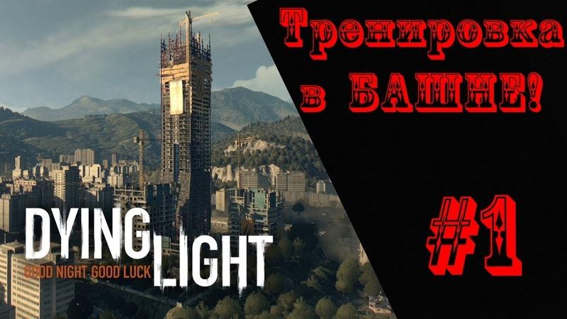 Прохождение Dying Light 1 Тренировка в башне