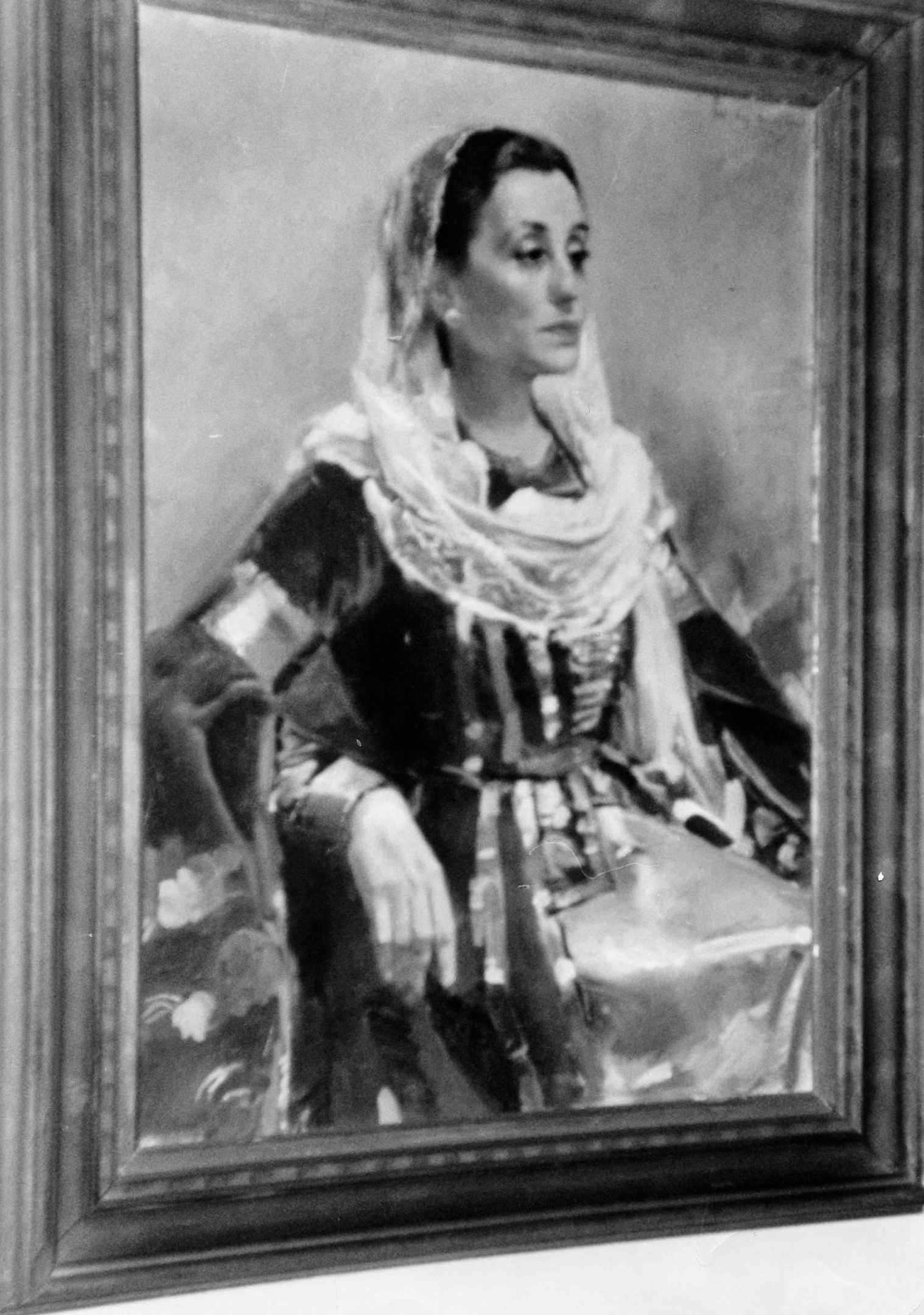 Портрет Ф. Шеретлуковой в Национальном музее г.Нью-Йорк