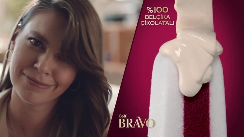 Aslı Enver Yeni Golf Bravo Dondurma Reklamı
