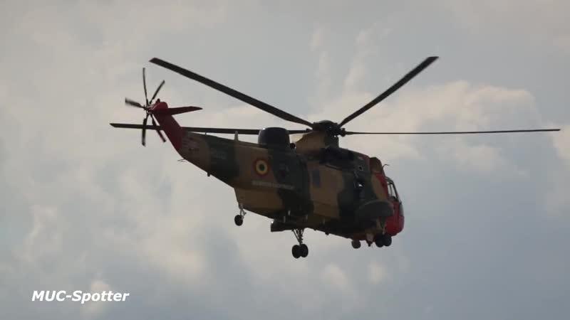 Показательный полёт вертолёта Westland WS 61 Sea King Mk48