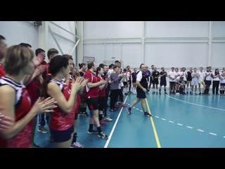 Всероссийский фестиваль волейбола в Горизонте