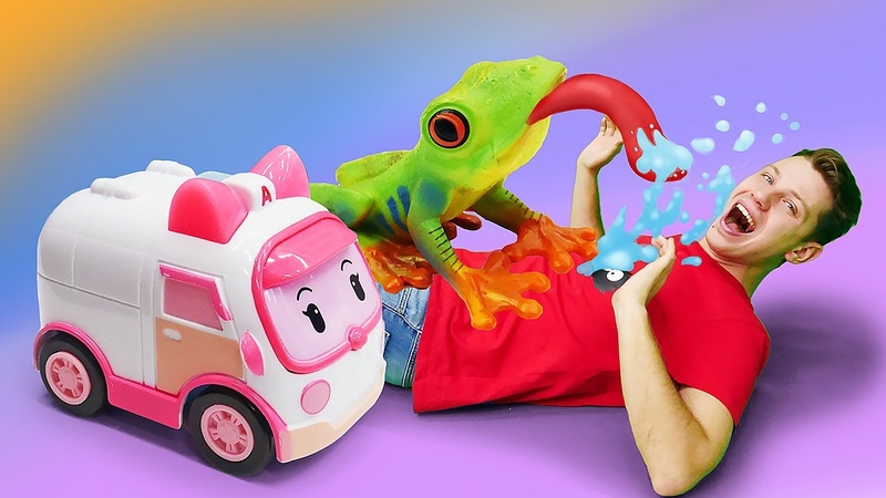 Новые игрушки в городе робокаров Игровые наборы фигурок Collecta Динозавры и зверята детям