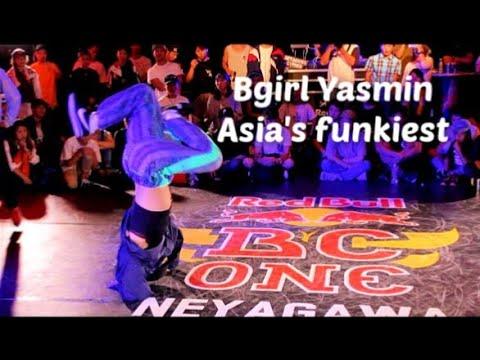 Bgirl Yasmin. Asias funkiest bgirl. Decade of Dopeness 20.
