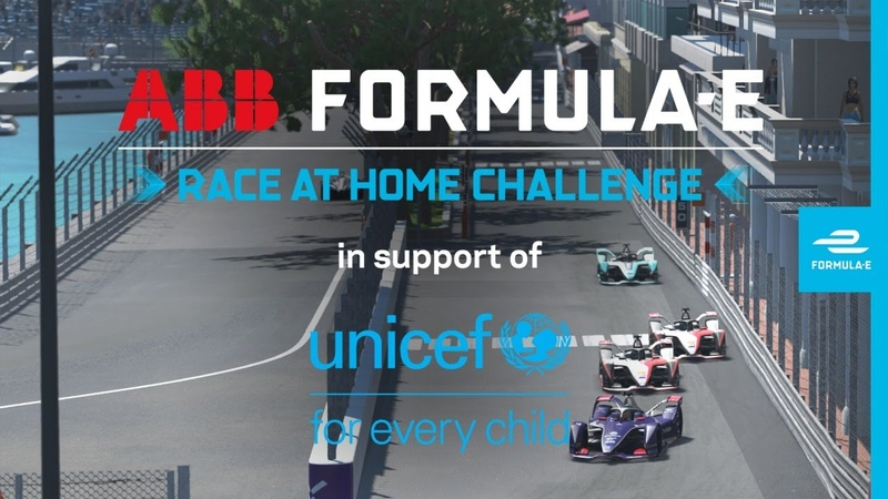 Round 6 Race LIVE ABB Formula E Race At Home Challenge In Support Of UNICEF