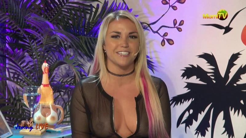 Jenny Live 872 Ufo's Miami TV Jenny Scordamaglia