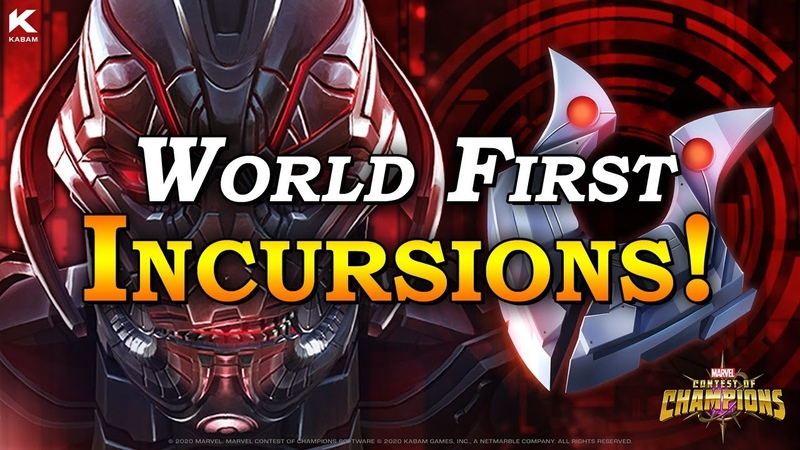 World First Incursions Marvel Contest of Champions