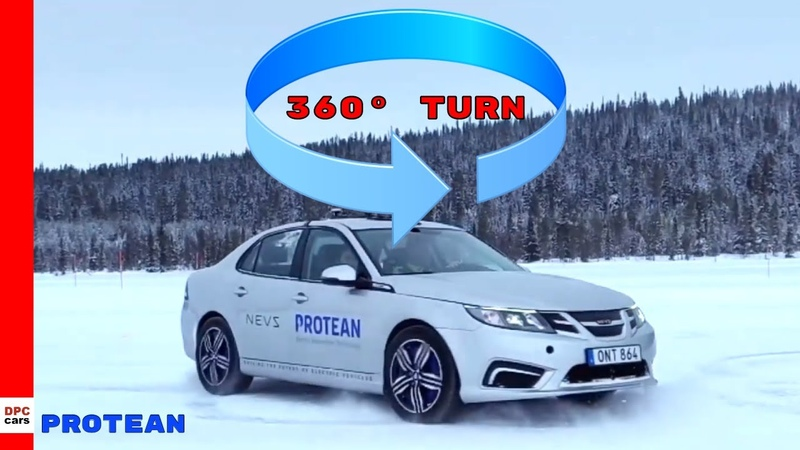 Protean Future Electric In Wheel Motor 360 Degree Technology