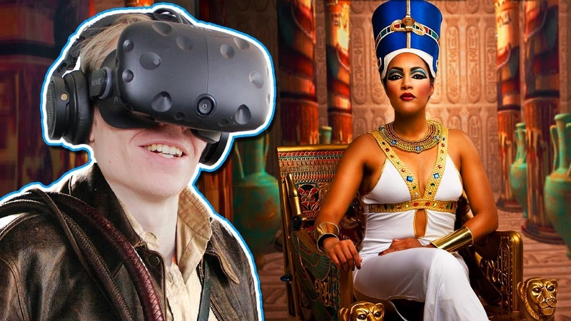 EXPLORE AN EGYPTIAN TOMB IN VIRTUAL REALITY Nefertari Journey to Eternity VR HTC Vive Gameplay