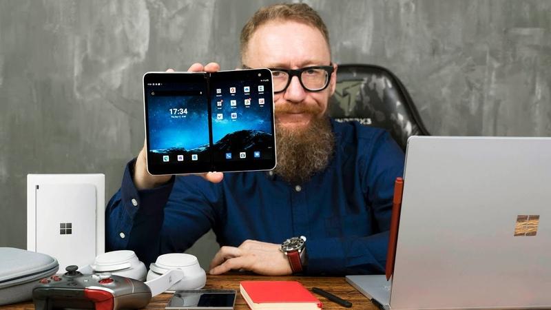 Обзор Microsoft Surface Duo