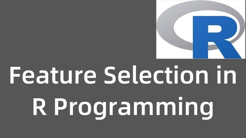 Feature Selection in R programming Stepwise Regression Machine Learning Data Science