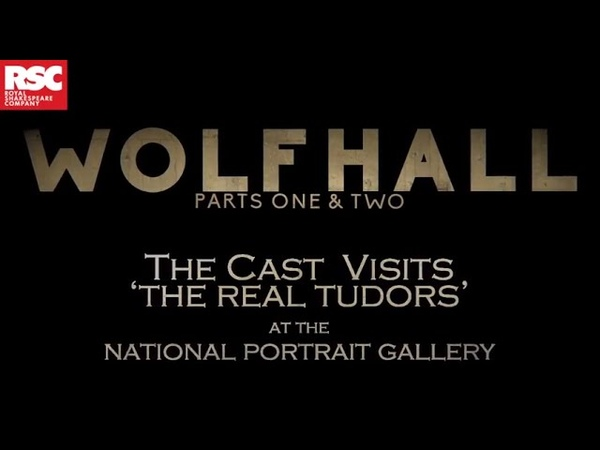 The Cast Visits 'The Real Tudors' at The National Portrait Gallery