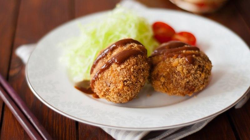 Eng Sub 曼食慢语第73集 炸肉饼 Menchi Katsu