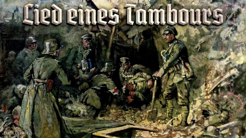 Lied eines Tambours [German soldier song][English translation]