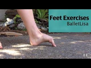 Follow Along Feet Exercises