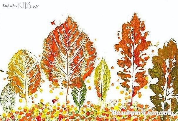 10 ЯРКИХ ОСЕННИХ ПОДЕЛОК ИЗ ЛИСТЬЕВ 1. Конечно, венок. А Вы умеете плести венок из листьев клена2. Аппликация. Можно создать самые невероятные образы. Смотрите фото3. Аппликация с цветной