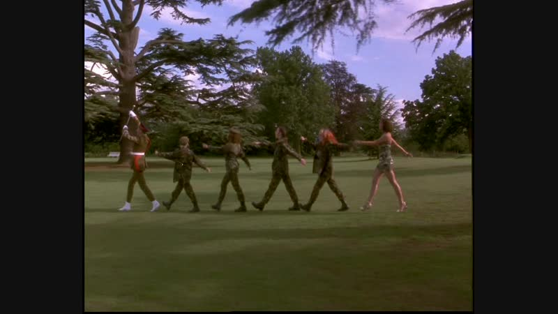 Spice Girls - Spiceworld The Movie - Bootcamp Scene 01.07.1997