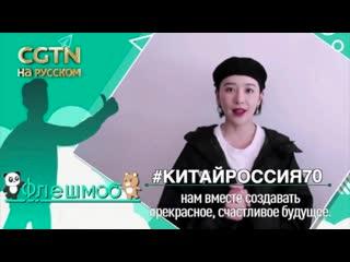 Лайк дружбе Китая и России: Кань Циньцзы