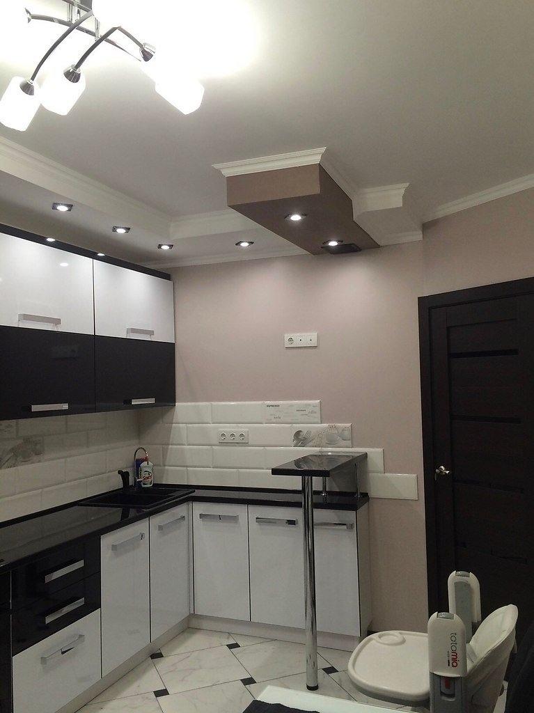 Наша кухня после ремонта. Мы довольны результатом. А вам нравится?
