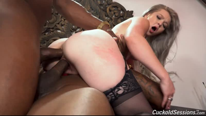 Kay Carter Cuckold Sessions Anal Sex DP Hardcore Treesome Teen Blonde Big Black Cock Dick BBC Rough