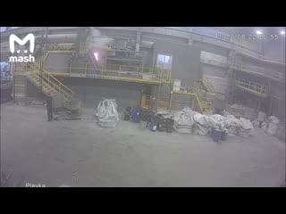 Взрыв на заводе в городе Унеча Брянской области