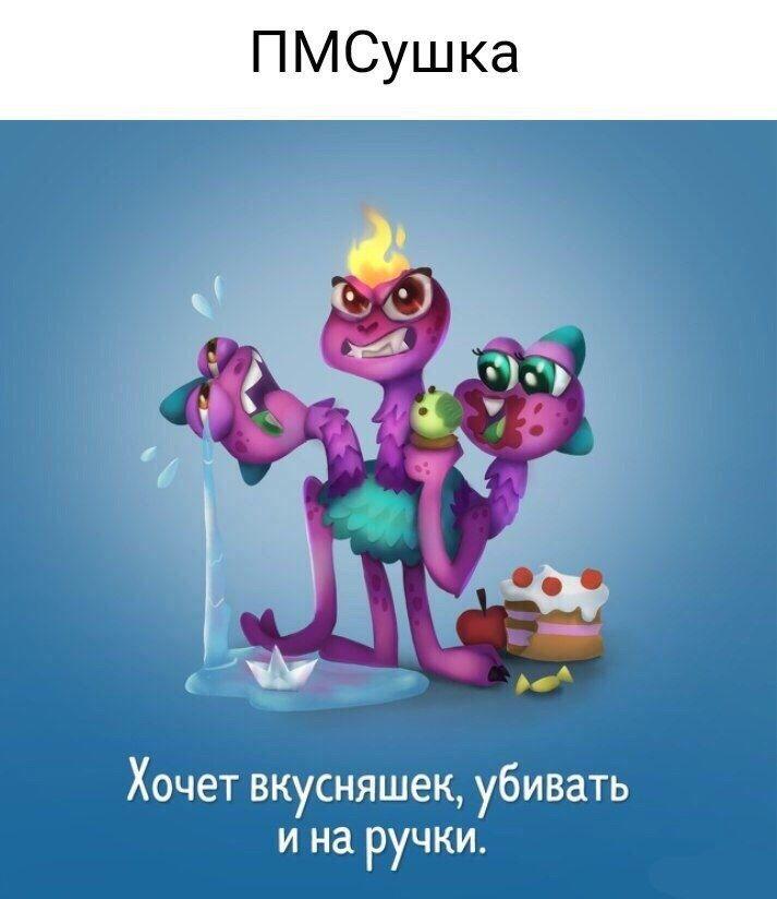 Монстрик ПМСушка
