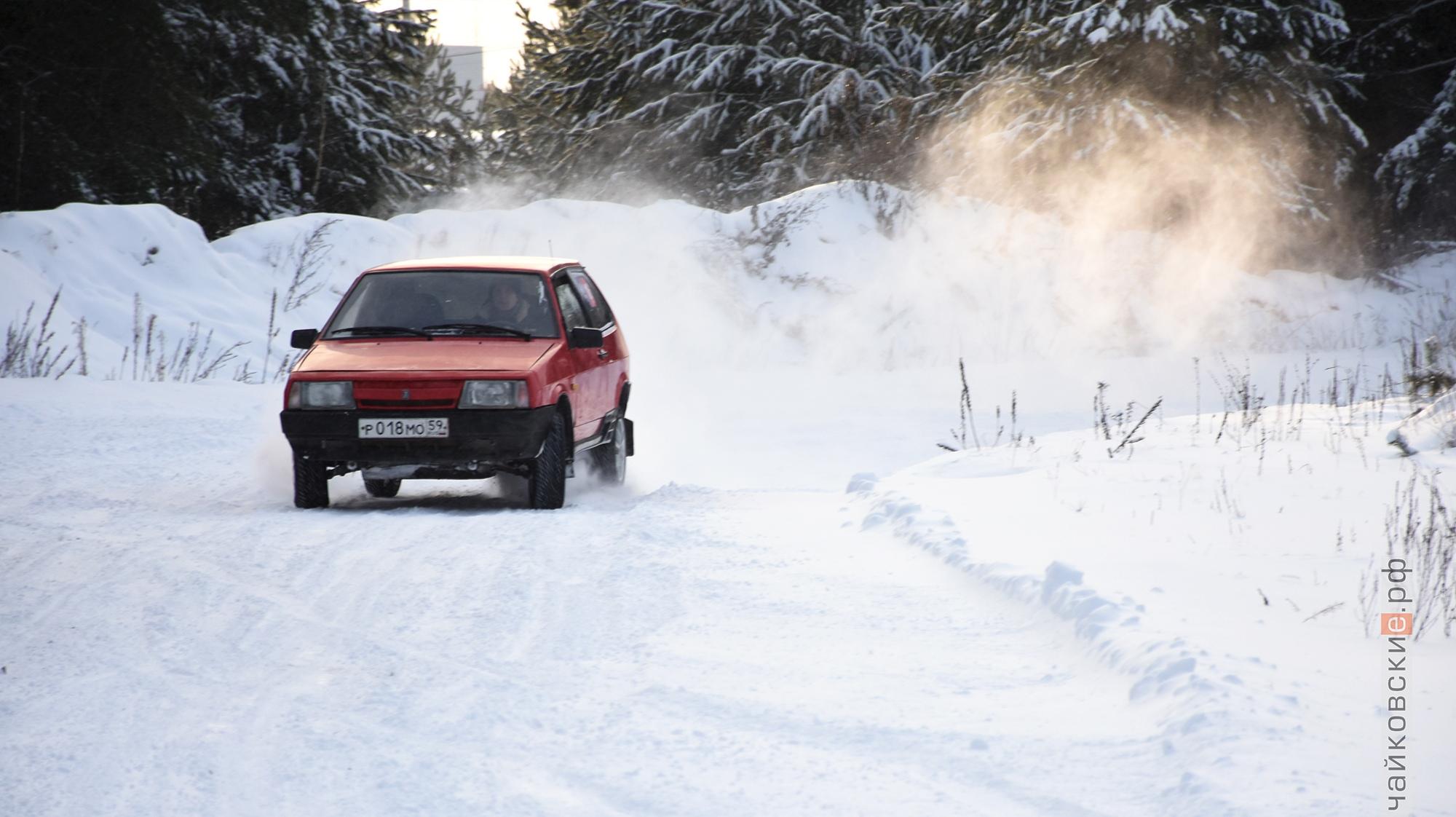 первый снег, чайковский район, 2019 год