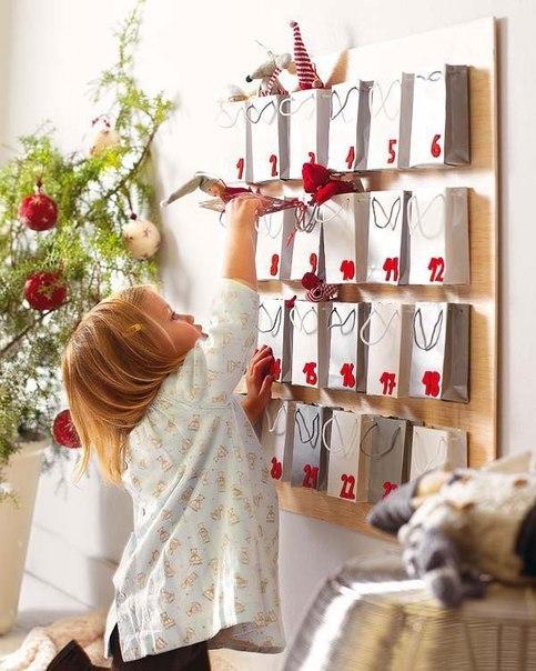 ЗАДАНИЯ ДЛЯ ДЕТСКОГО АДВЕНТ-КАЛЕНДАРЯ Новогодний адвент-календарь для ребенка 2-4 лет может содержать следующие задания (хотя многое подойдет и для детей постарше):- Нарисовать зимний рисунок на