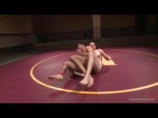 [480]  Naked Kombat - OIL MATCH! - Billy Bodyslam Santoro vs Jimmy (Wrestling)
