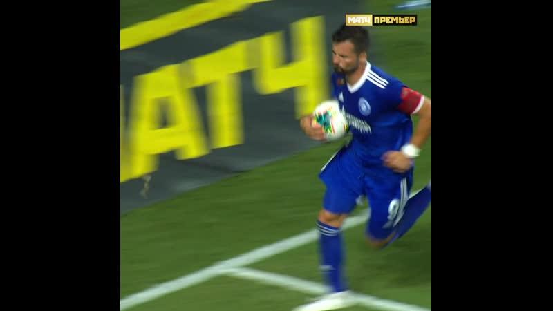 Бисиклета Джордже Деспотовича в ворота «Ахмата» стала лучшим...
