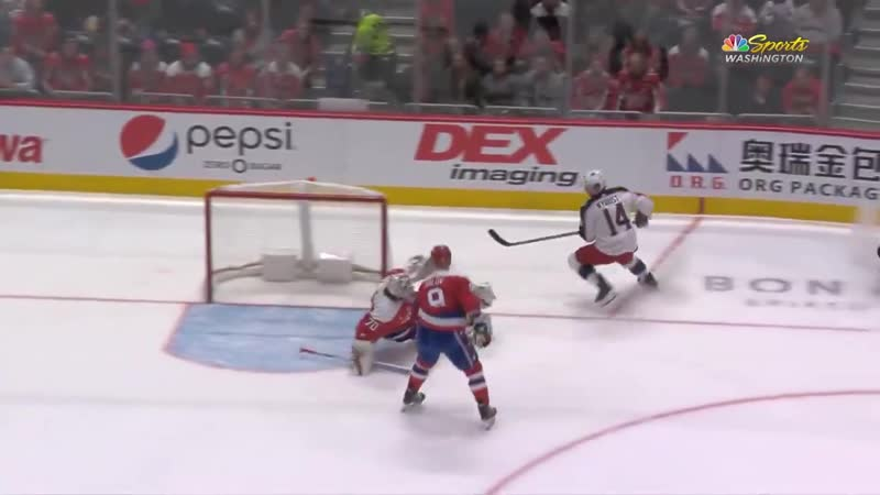 Beast blocks the breakaway