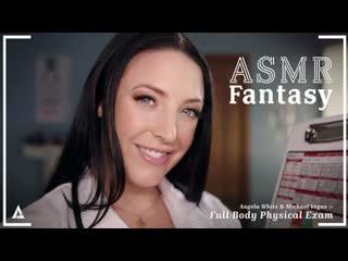 Angela White - ASMR Fantasy: Full Body Physical Exam [AdultTime] MILF Big Tits Ass ASMR JOI POV