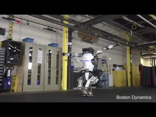 Boston Dynamics: More Parkour Atlas