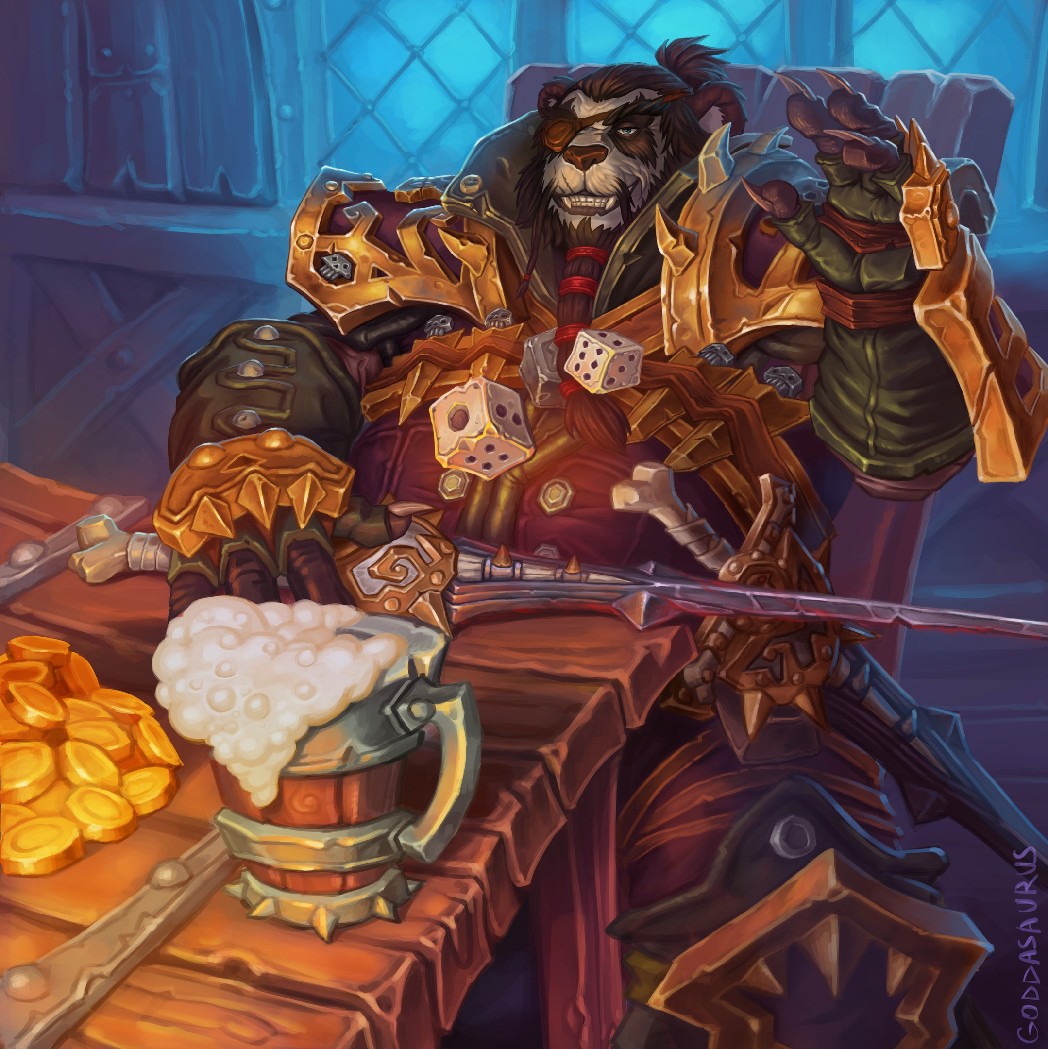 Талантище!   От автора: Warcraft — моя любимая вселенная, полюбившаяся мне глуби…
