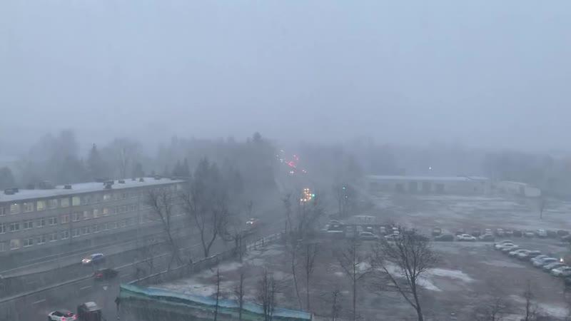 Январь 2020 в Минске: снег, град, гром и дождь