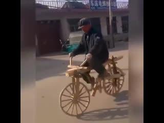 Я буду долго гнать велосипед ) -