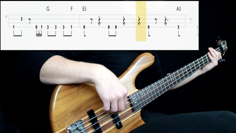 Alien Ant Farm - Smooth Criminal (Bass Only) (Play Along Tabs In Video)