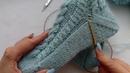 как связать носки спицами с косами от мыска. Забытая пятка. Подробный МК. легко и просто.