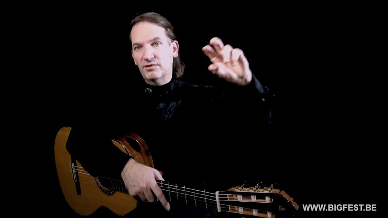 Marco Tamayo - Major basic tips for developping expressiveness for young guitarists - Master Class