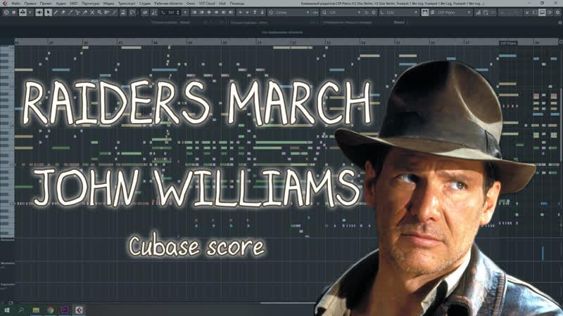 Raiders March - John Williams, recreated by Yuri Konstantinov