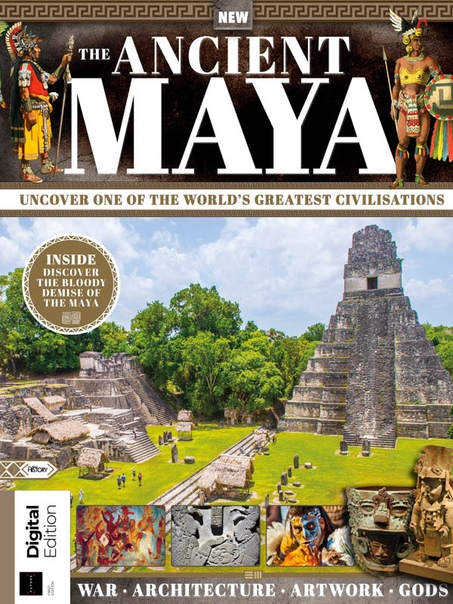 All About History Book of the Ancient Maya Ed1 2020