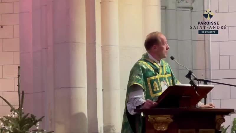 Courageux message de lAbbé P. de MAISTRE, curé de la paroisse Saint André de lEurope à Paris Vivre ce nest pas rester confiner c