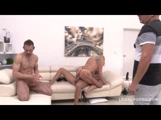 Brittany Bardot no holes barred with DP, DAP, Fisting, Triple Penetration and Piss Drinking