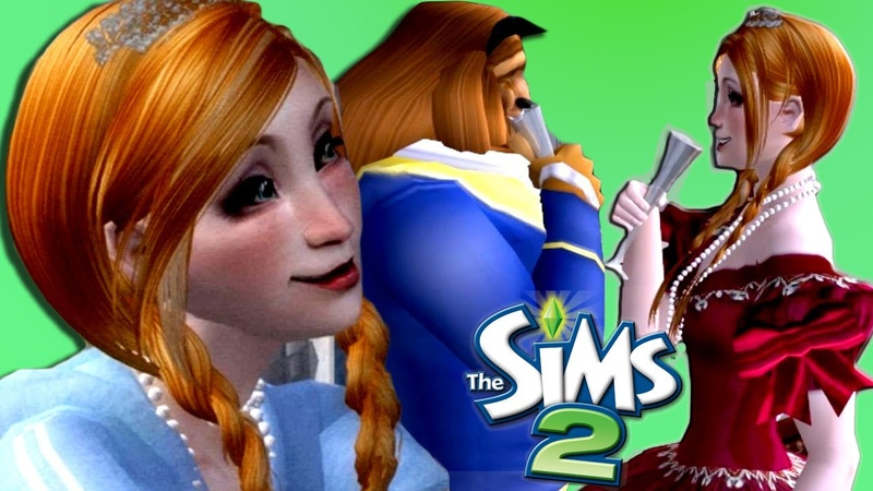 THE SIMS 2 PRINCESSES AND A BEAST