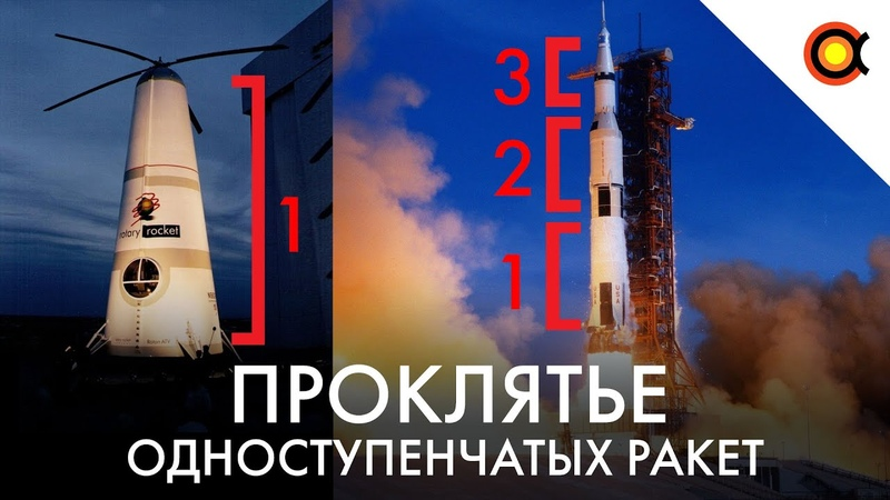 Проклятье одноступенчатых ракет Почему все ракеты многоступенчатые